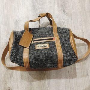 Oscar de la Renta Studio Tweed Duffle Bag